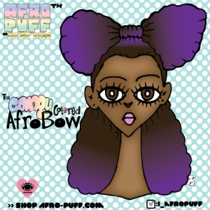 The AfroBow! I can't wait until my hair is long enough to rock this style.