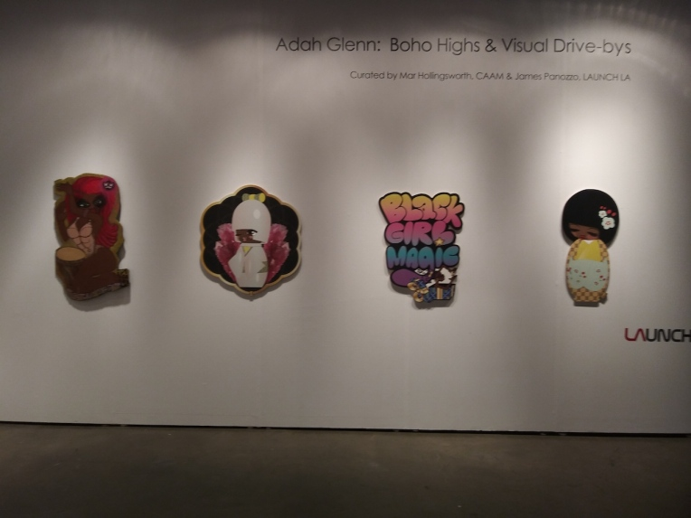 L A Artshow Installation 1 web