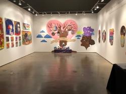 LA ArtShow 2019 Installation