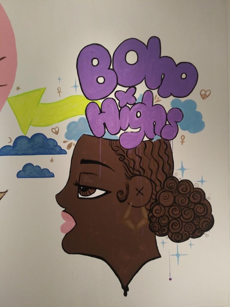 LA Artshow Installation Mural detail